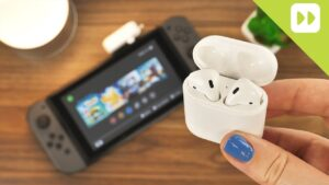 airpods スイッチ